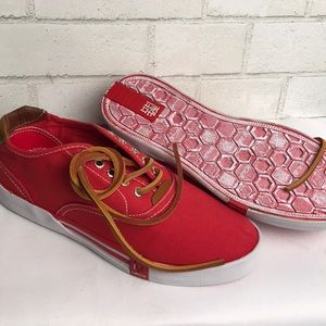 Impulse NEW 8 RED Sneakers Canvas Rubber
